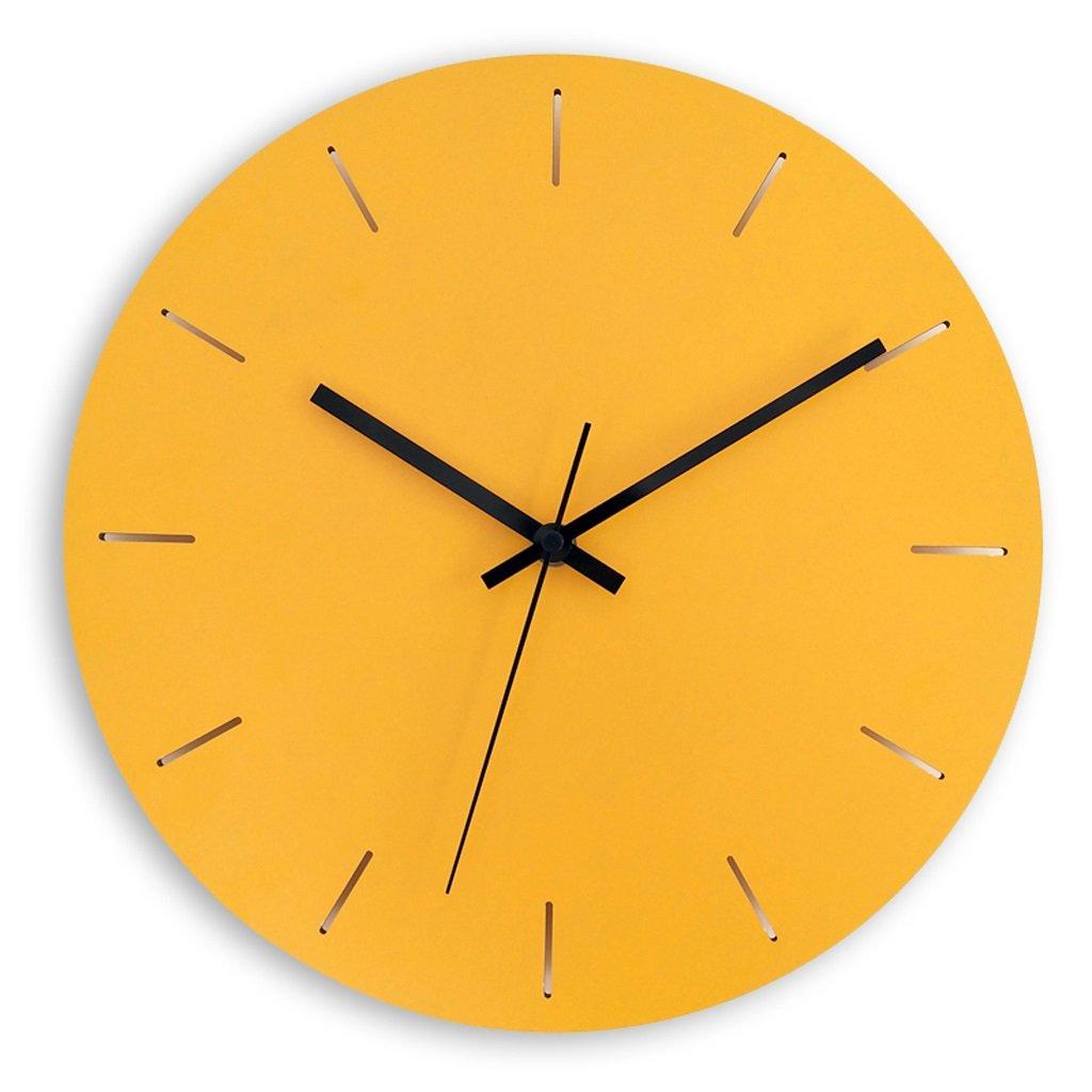LINGZHIGAN ウォールクロックモダンファッションミニマリストリビングルームガーデンウッドミュートクォーツ時計時計の壁時計 ( 色 : A , サイズ さいず : 15 inches ) B07BT5KYXD 15 inches|A A 15 inches