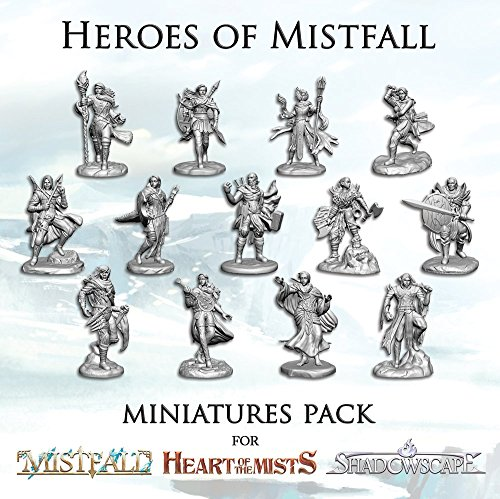 NSKN Games Heroes of Mistfall Miniatures Pack (3 Piece)