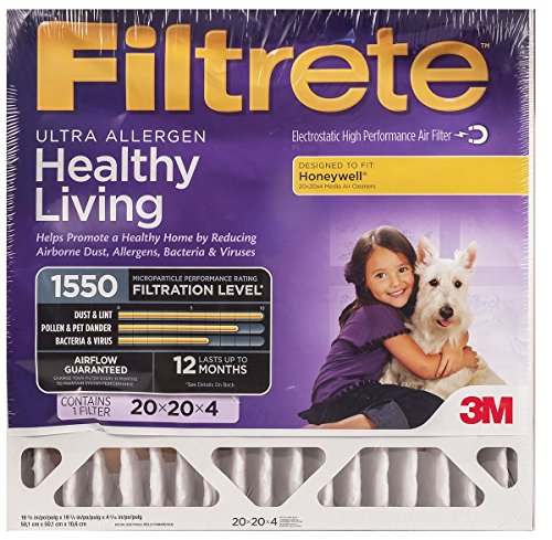 20x25x4, Filtrete Air Filter, MERV 11, by 3m