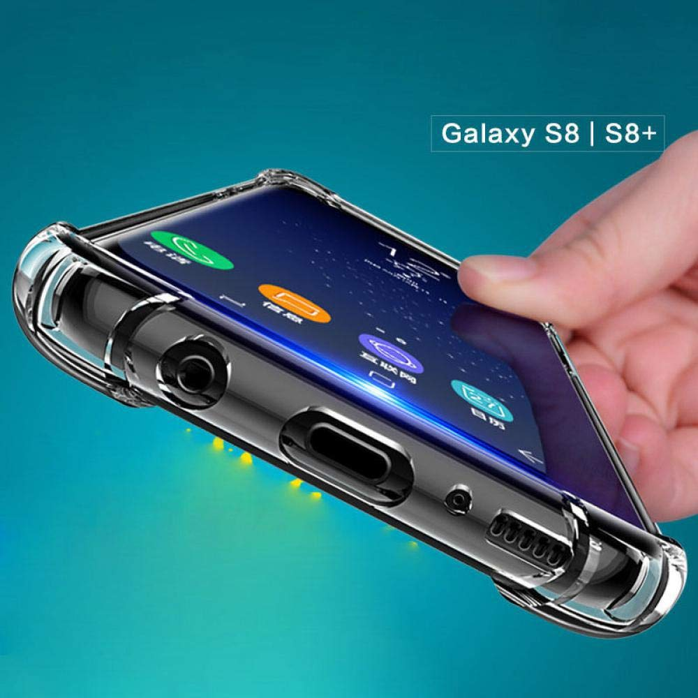Amazon.com: Ultra Thin Case for Samsung Galaxy S8 Clear Soft ...