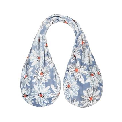 hkfv azul flor Causal Mama diseño de respiración Tata toalla toallas de Creative cómodo Dreaming de
