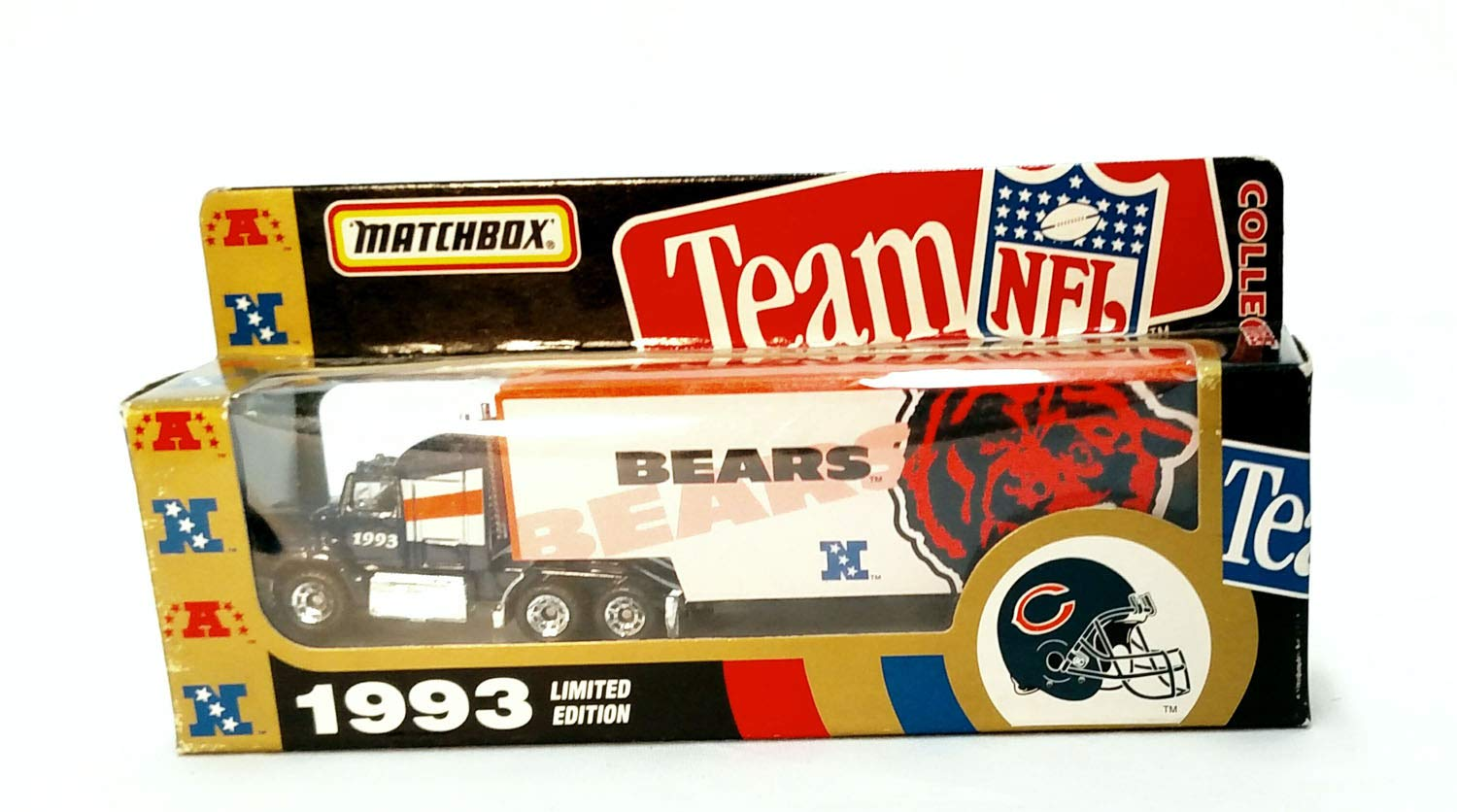 Chicago Bears 1993 Limited Edition Diecast Matchbox Collectible