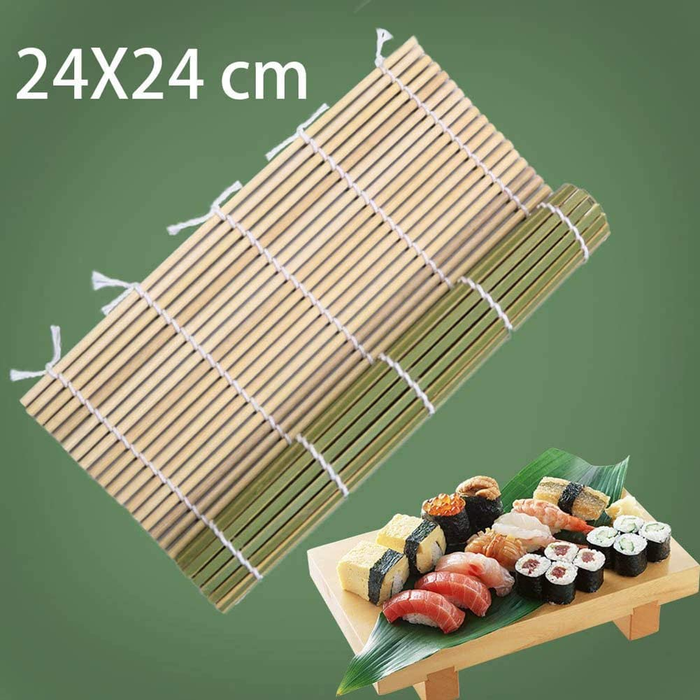 Knossus Strumenti di Sushi di bamb/ù del creatore della Mano del Rullo di Riso di Onigiri del Rullo di rotolamento dei Sushi di Legno