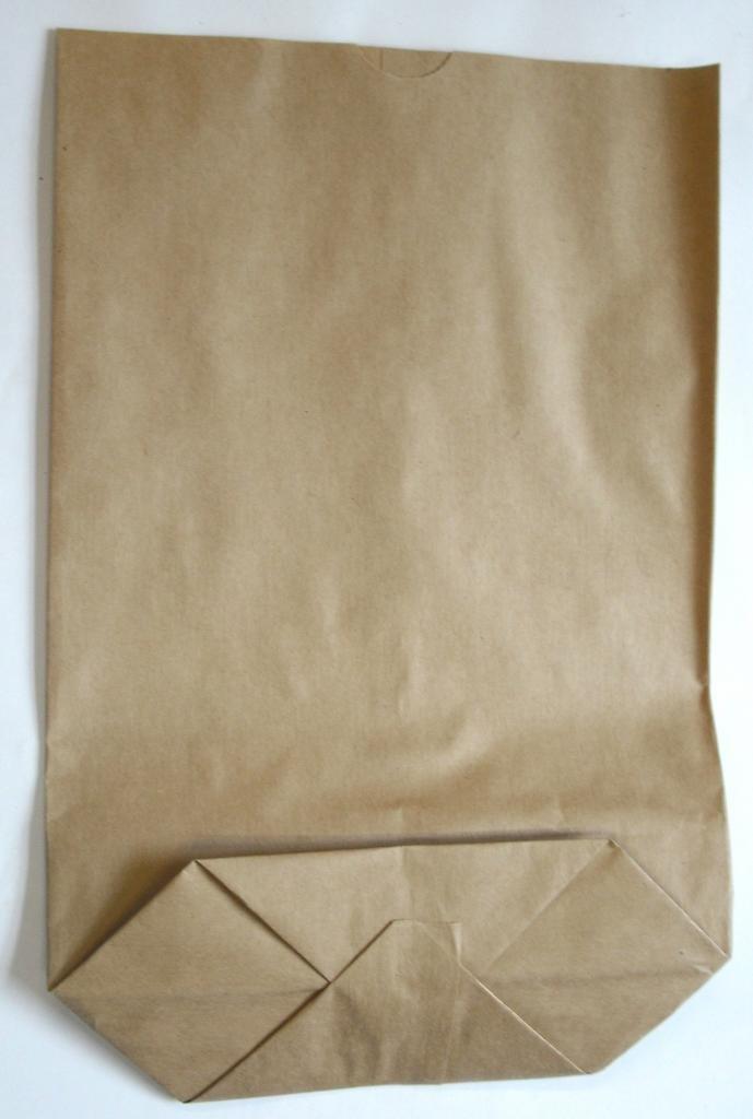 Bodentüte braun ohne Futter 23x37cm (800St.)