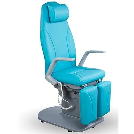 Fußpflegestuhl elektrisch 3 Moteren Fußpflegestuhl Stuhl für Pediküre Fußpflege Fußpflegeliege Kosmetikliege Kosmetikstuhl Pe