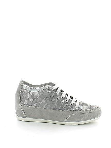 IGI&Co 57877 de La Perla Zapatos Grises de Los Deportes Zapatillas de Deporte Cordones Cordón zeppetta