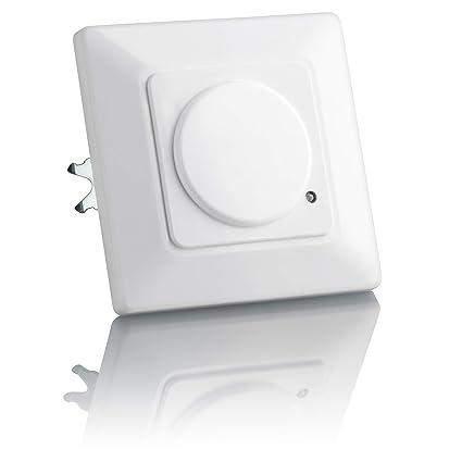 Sebson® Detector de Movimiento empotrable, Interior, HF Sensor, LED Adecuado, Montaje