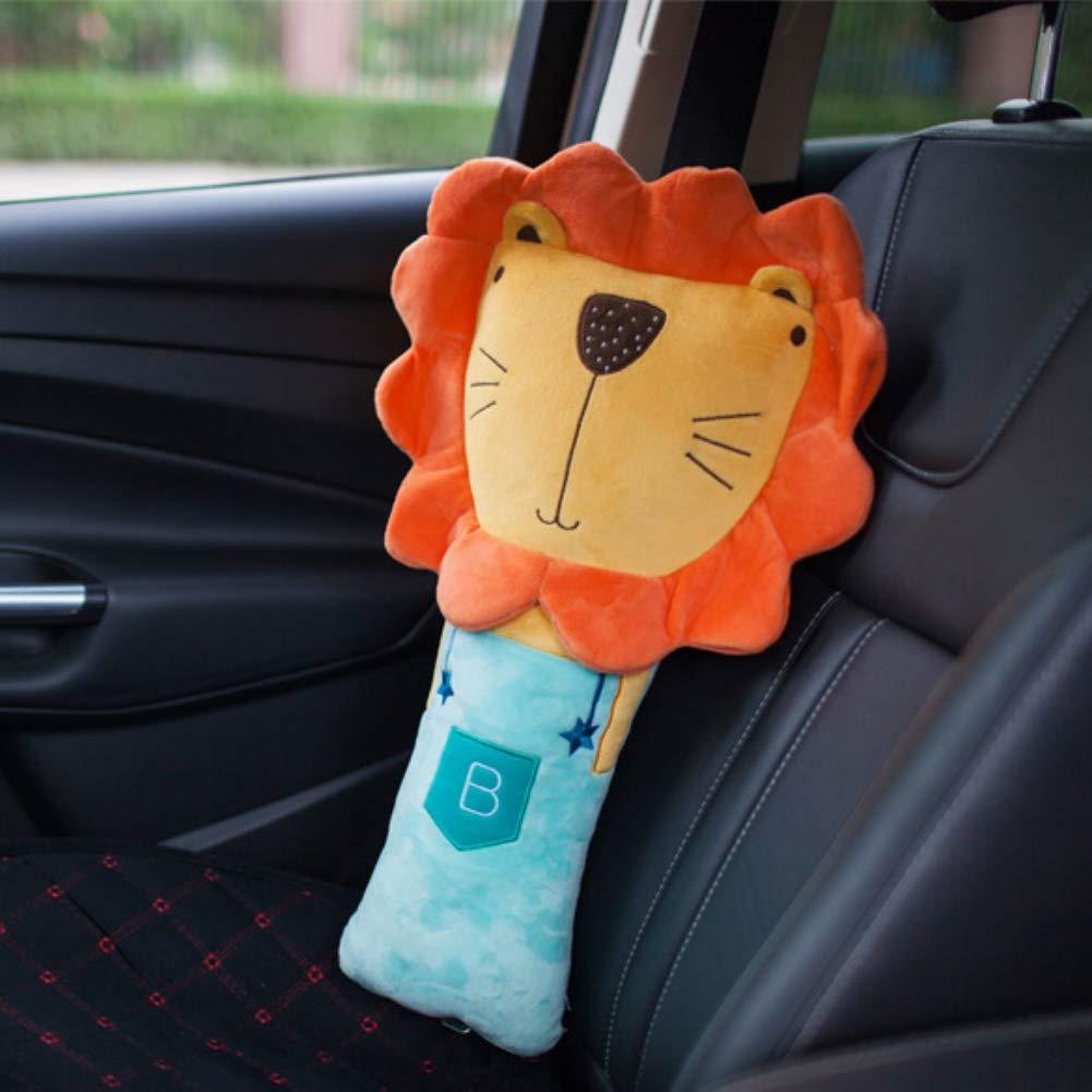 Auto ajustable funda de almohada Pad veh/ículo coche cintur/ón de seguridad juguete proteger hombro pecho ni/ño Juguete mu/ñeca cintur/ón de correa de asiento de coche coj/ín para ni/ños