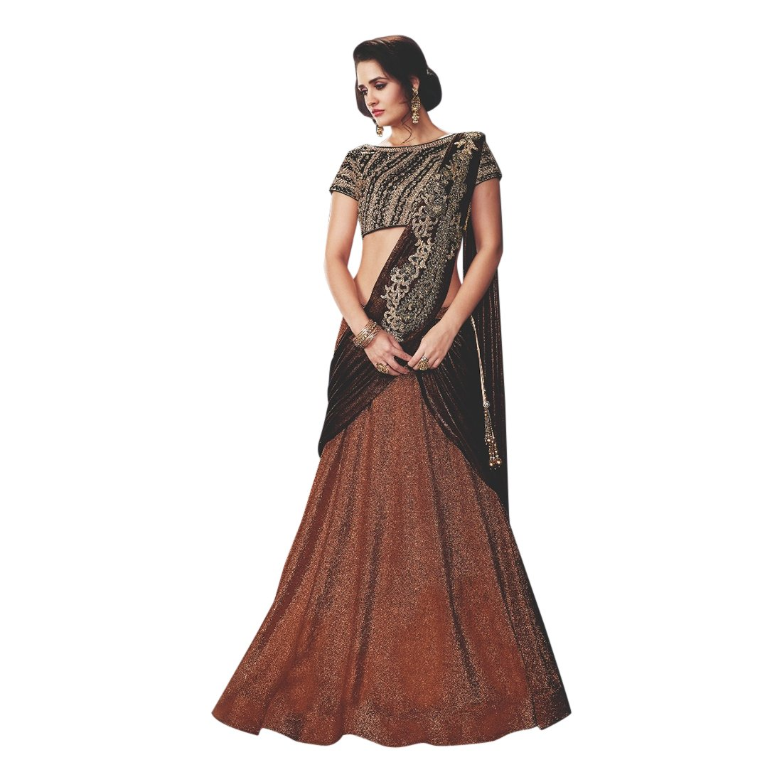 New Arrival Wedding Bollywood Designer Stylish Lehenga Choli Dupatta Custom to Measure Muslim Eid 2521