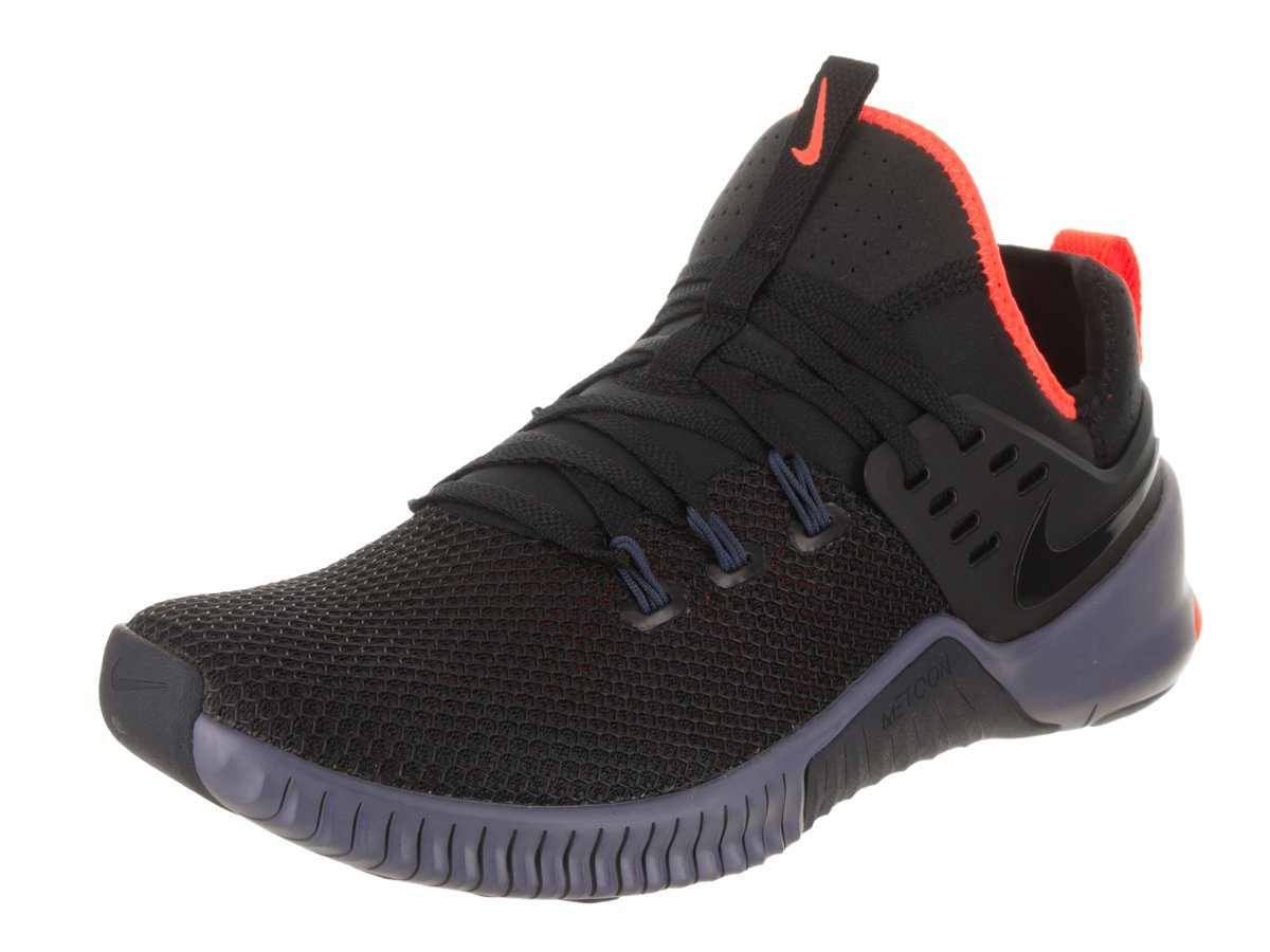 5a52446b527e6 Galleon - Nike Metcon Free Size 12 Mens Cross Training Black Thunder  Blue-Hyper Crimson Shoes