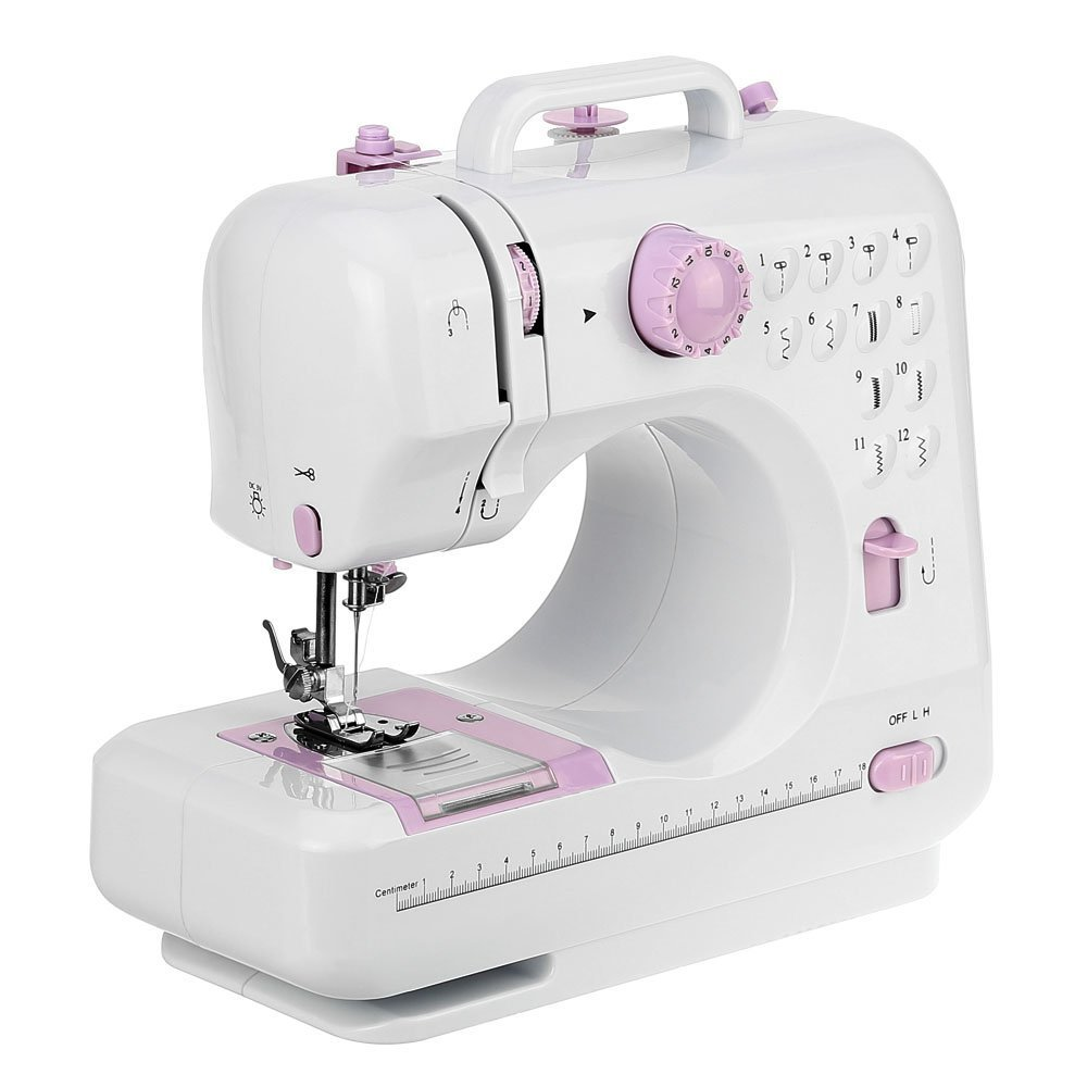 Mini máquina de coser manual electrica maquina coser portatil 12 Puntadas product image