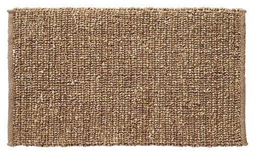 HF by LT Boho Market Sophia Braided Seagrass and Jute Doormat, 18