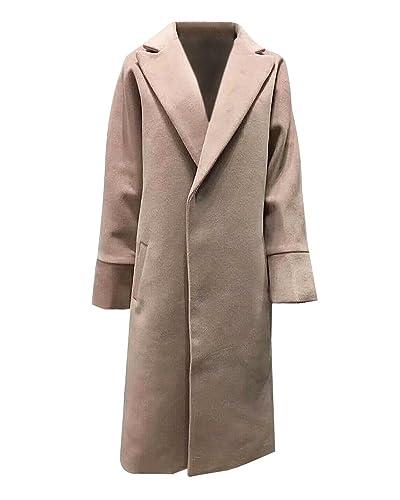 Mujer Abrigo Parkas Loose Cardigans Chaqueta Manga Larga Trench Coat Outwear XL