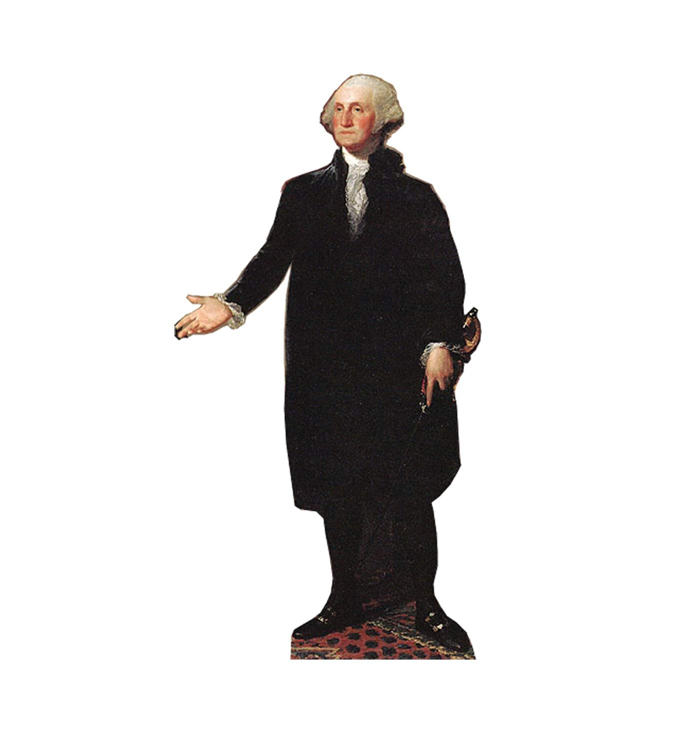 Advanced Graphics President George Washington Life Size Cardboard Cutout Standup by Cardboard People