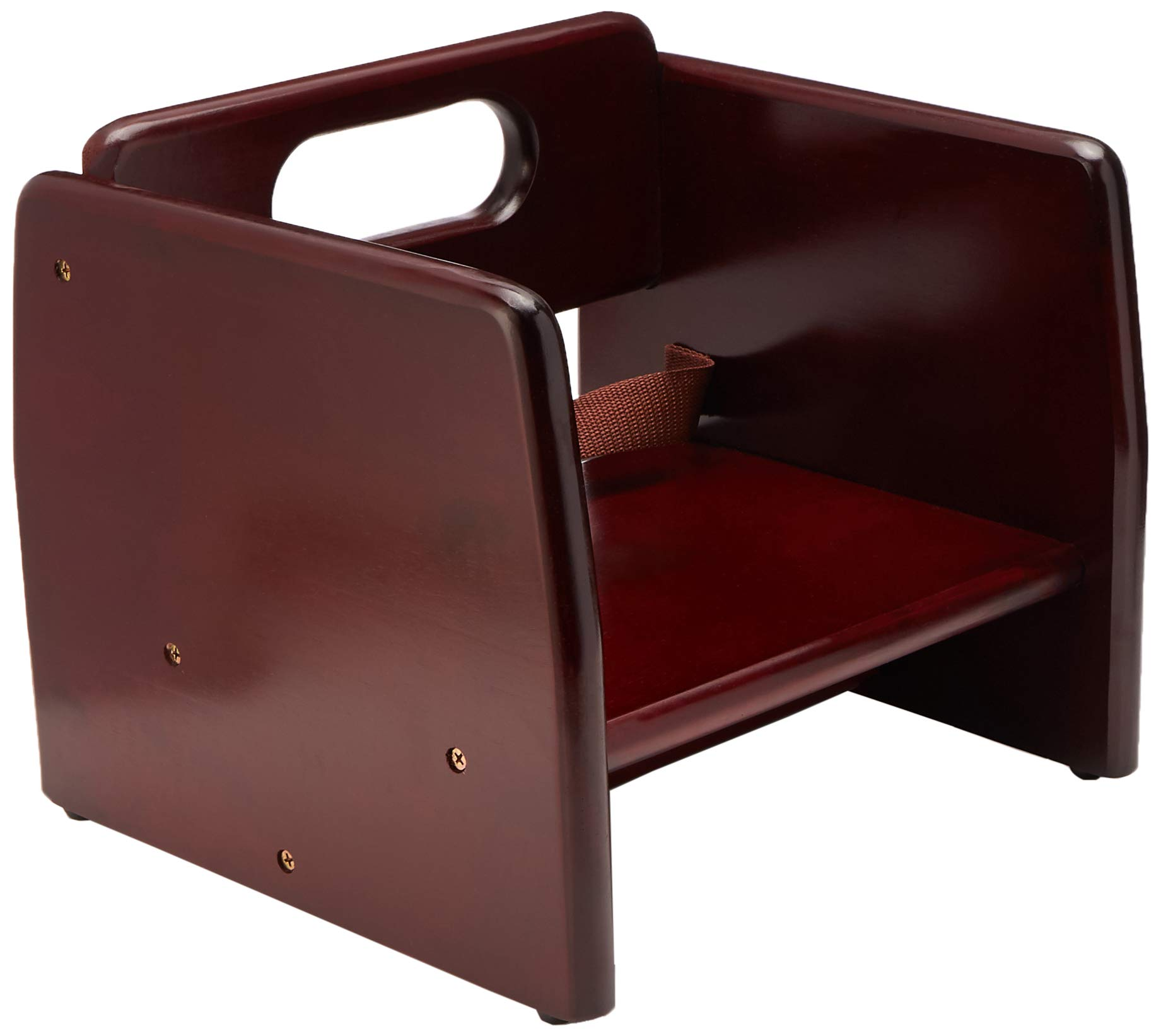 Winco CHB-703 Wooden Booster Seat, Mahogony by Winco