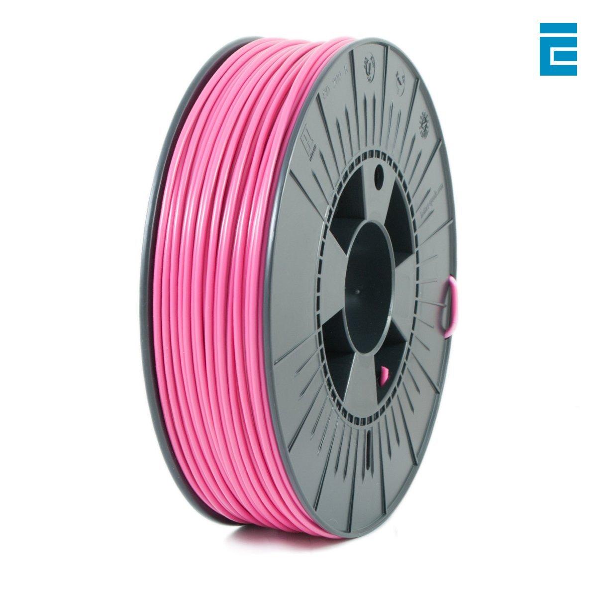 ICE FILAMENTS ICEFIL3PLA004 PLA Filament, 2,85 mm, 0,75 kg, Brave Black