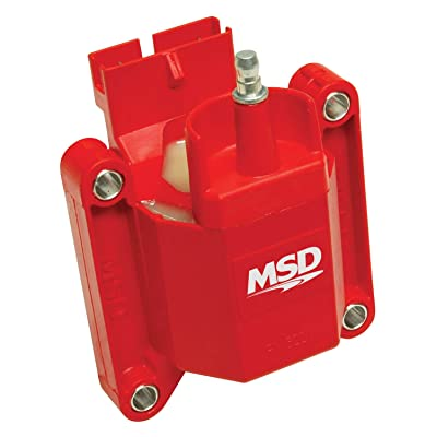 MSD Ignition 8227 High Performance Coil, TFI Ford Compatible Replacement,: Automotive