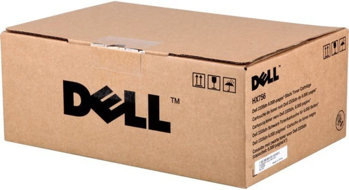 Dell HX756 2335 Toner Cartridge (Black) in Retail Packaging