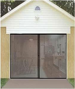 INSTANT GARAGE DOOR SCREEN w/MAGNETIC CLOSERS - - Amazon.com