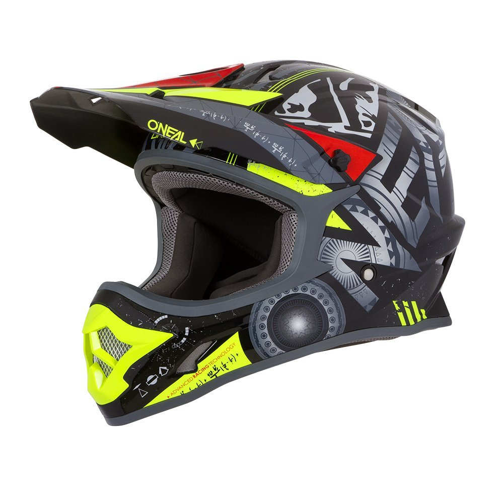 Farbe Blau 0623-H-Adult Gr/ö/ße XS ONeal 3Series Helium Motocross Helm MX MTB FR DH All Mountain Bike Freeride Downhill Fahrrad