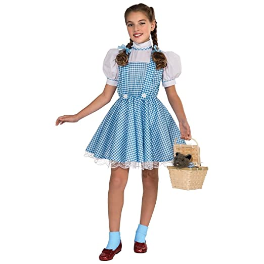 02afa4cf314b3 Amazon.com  GSG Dorothy Costume Kids Wizard of Oz Halloween Fancy ...