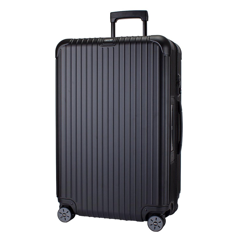 【E-Tag】 電子タグ RIMOWA リモワ サルサ マルチホイール 4輪 スーツケース マット/つやけしブラック MULTIWHEEL 78L (811.70.32.5) [並行輸入品] B073P2QBN6