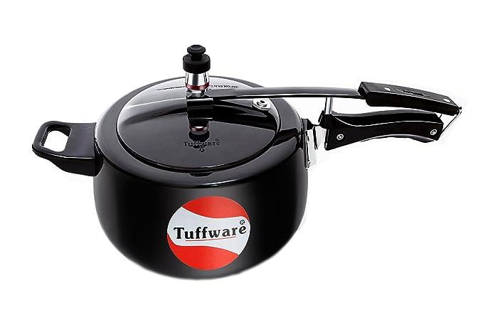 TUFFWARE Hard-Anodized Aluminum Inner LID Classic Cooker (1.5 LTR)