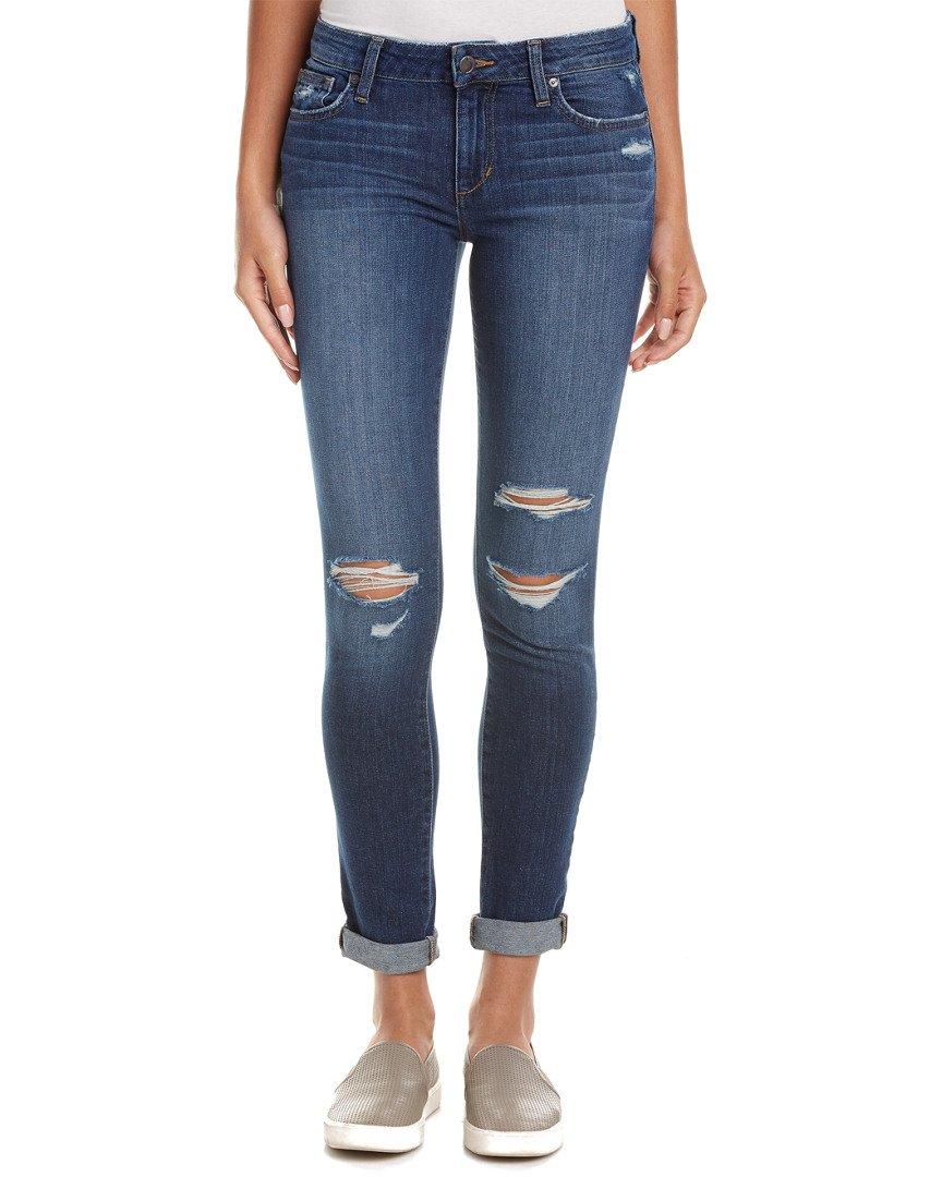 Joe's Jeans Women's Rolled Ankle Skinny Jeans (29, Blue)