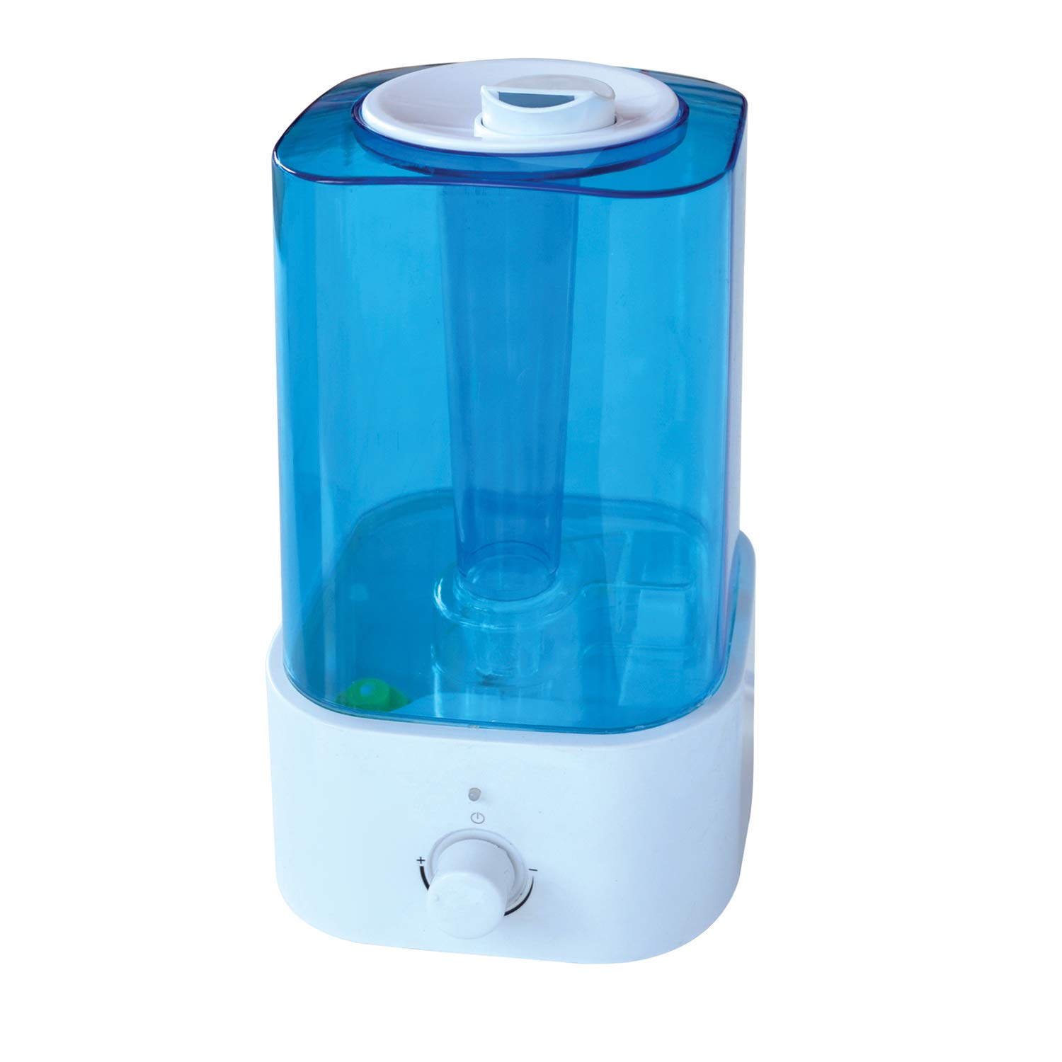 MIFAVOR Cool Mist Humidifier, Ultrasonic Whisper Quiet Humidifiers with Anti Slip Handle for Bedroom Babies Home (2L/0.5Gallon)