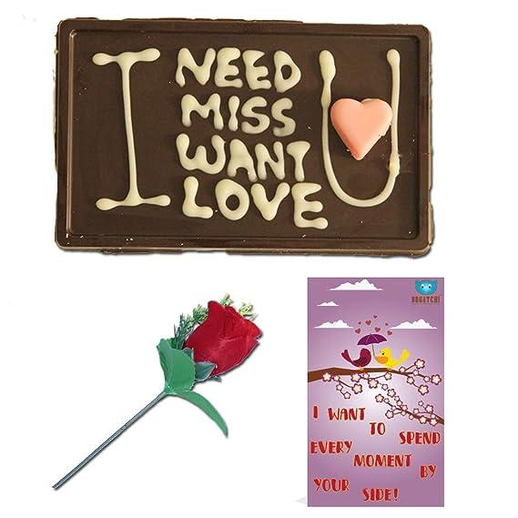 Bogatchi Handwritten Chocolates Valentine Day Gift For