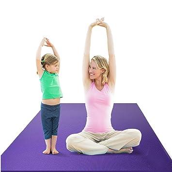 FGKING Yoga Mat Antideslizante-más Largo y más Ancho Que ...