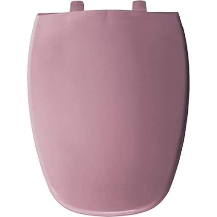 Admirable Bemis 1240205 303 Elongated Closed Front Toilet Seat Dusty Rose Lamtechconsult Wood Chair Design Ideas Lamtechconsultcom