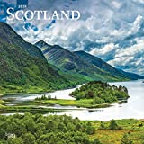 Scotland 2019 12 x 12 Inch Monthly Square Wall Calendar, UK United Kingdom Scenic (Multilingual Edition)