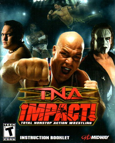Tna Total Non Stop Action Wrestling - TNA Impact - Total Nonstop Action Wrestling PS3 Instruction Booklet (Sony PlayStation 3 Manual ONLY - NO GAME) [Pamphlet ONLY - NO GAME INCLUDED] Play Station