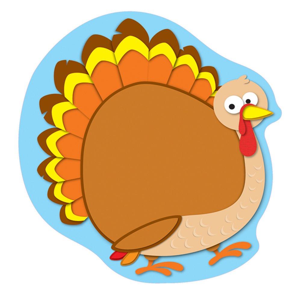 amazon com carson dellosa turkey cut outs 120102 themed