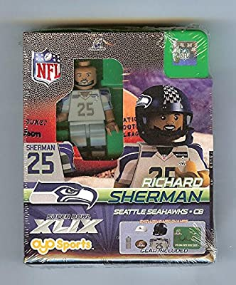 Richard Sherman Oyo 2014 NFC Champions Champs & Super Bowl Participant G2LE Series 6
