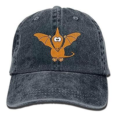PMNADOU Cartoon Dinosaurs Denim Baseball Caps Hat Adjustable Cotton Sport Strap Cap for Men Women by PMNADOU