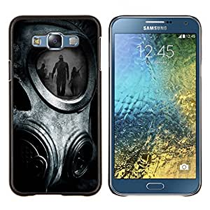 - Man Funny - - Cubierta del caso de impacto con el patr??n Art Designs FOR Samsung Galaxy E7 E7000 Queen Pattern
