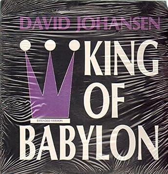 David johansen king of babylon