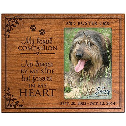 amazon com lifesong milestones personalized pet memorial gift