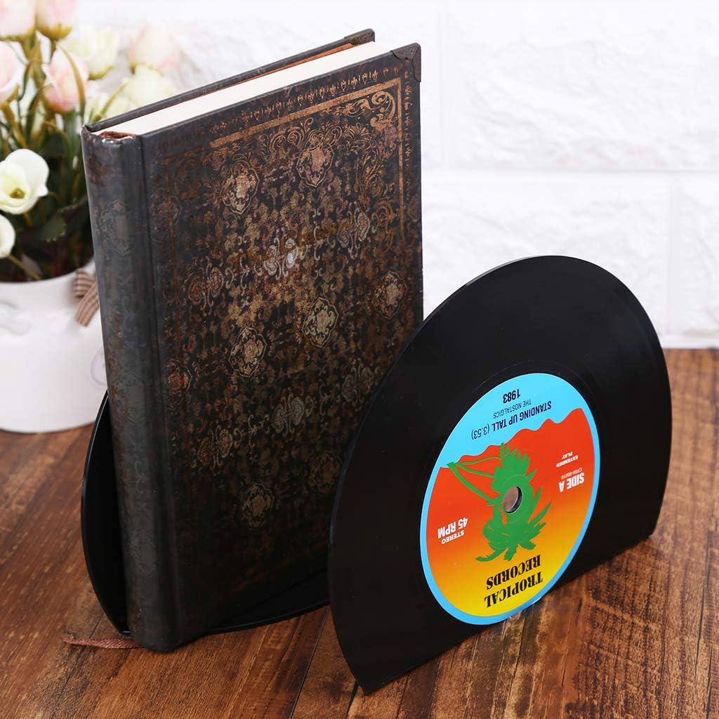 Shaoyanger Buchst/ützen in Form einer kreativen Platte 2 St/ück