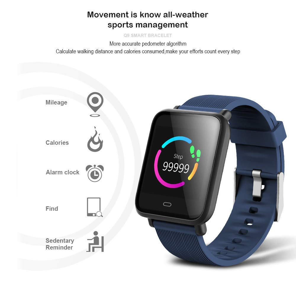 Amazon.com: LARDOO Multi-Dial Q9 Smartwatch IPX67 Waterproof ...