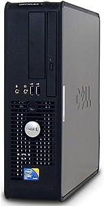 Dell Optiplex Business Computer, Intel Dual Core 2 Duo 1.86GHz Processor, 4GB DDR2 RAM, 160GB HDD, DVD, Gigabit Ethernet, Windows 10(Renewed)