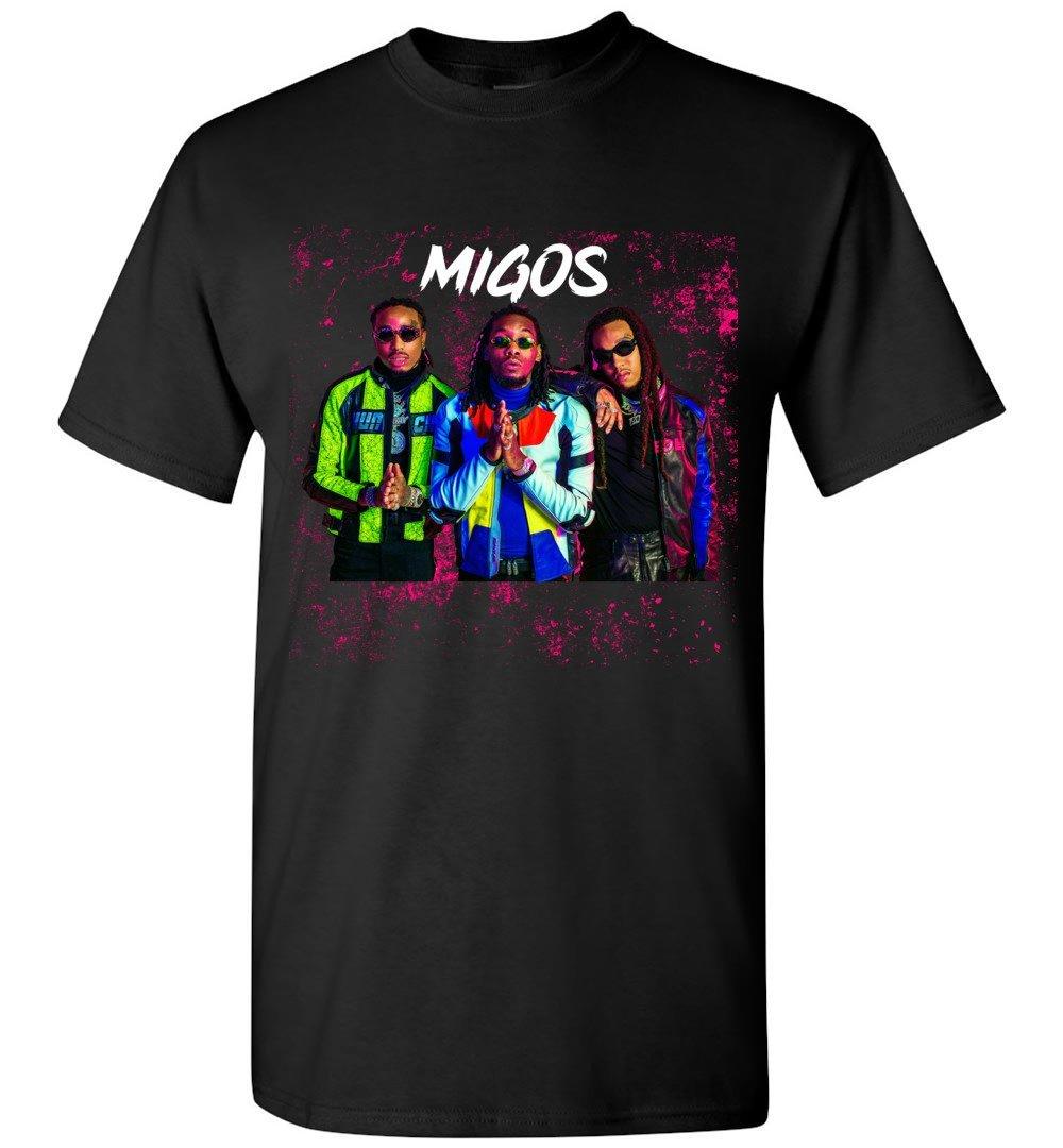 Migos Short Sleeve Shirts