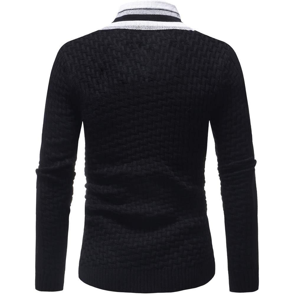 SANFASHION Herren Mens Casual Long Sleeve Sweatshirt 1