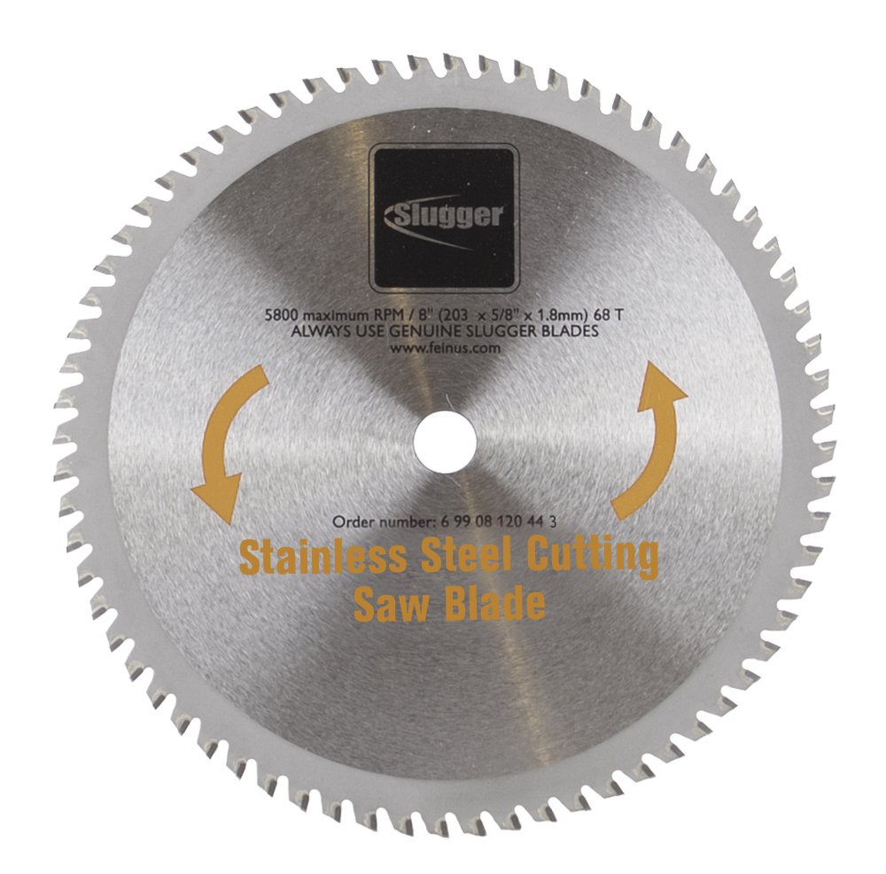 Jancy Engineering 69908120443 MCBL8-SS Blade, Stainless, 8''
