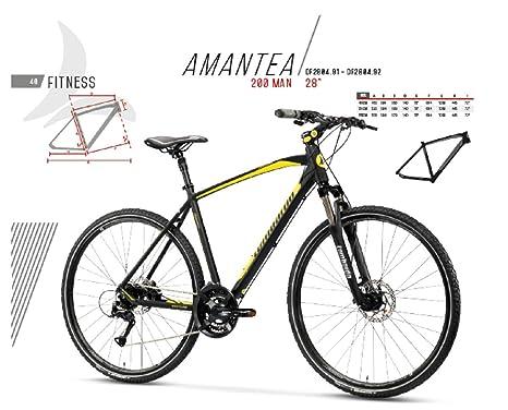Biciclette Cicli Puzone Bici Lombardo Ibrida AMANTEA 200 Man Gamma 2019
