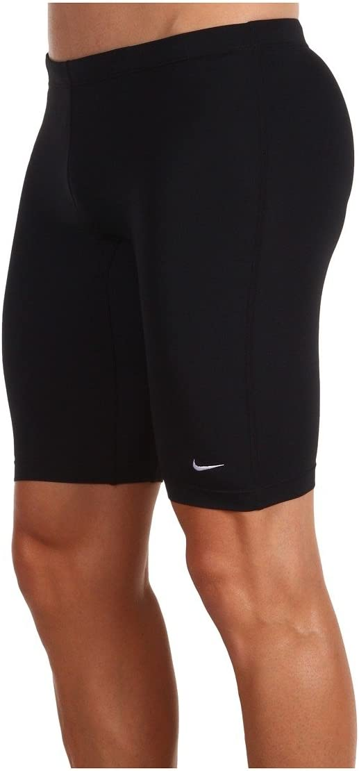 Nike Mens Swim Poly Core Solid Jammers 001 Black