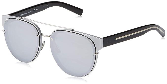 Amazon.com: Gafas de sol DIOR HOMME BLACKTIE143SA plateadas ...