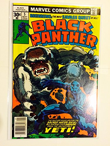 Black Panther #5 (September 1977)